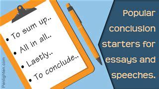 Good argumentative essay conclusions